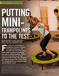 Preview image of ACE study on exercise trampoline benefits.