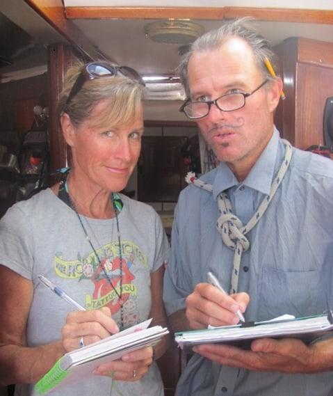JumpSport blogger Ann C Brown and her husband