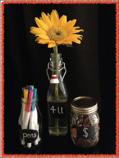 Blackboard Bottle Craft_Finished Samples_2