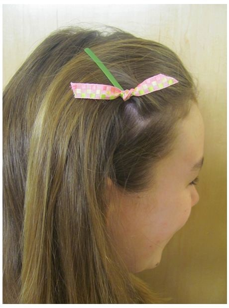 Decorated Bobby pins look great in your hair