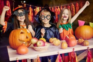 Creepy, Crawly (and Fun and Safe) Halloween Party Ideas on jumpsport.com