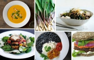 Food examples of different food styles