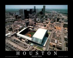 Aerial photograph of Houston Texas
