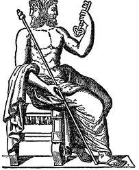 Image of Janus the Roman god of the doorway