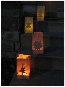 Kids Craft Luminarias multiple