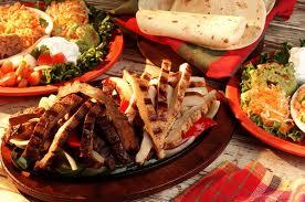Mexican food at Evas Mexican Restaurant