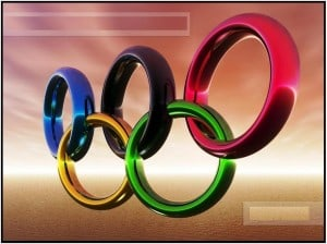 Multicolor Olympic rings