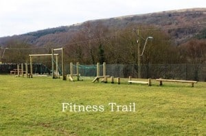 Fitness trail course for travelcise