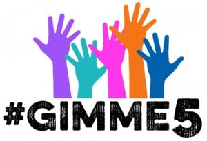 GIMME5 fitness challenge