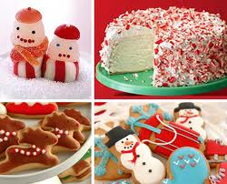 Christmas cookies and treats