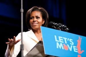 Michelle Obama Gimme 5
