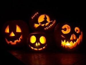 Carved Halloween Jack-o-lanterns